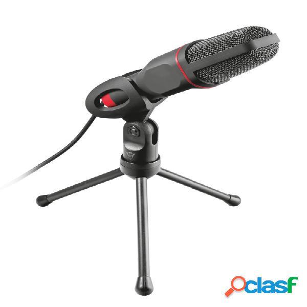 Trust micrófono gxt 212, alámbrico, usb