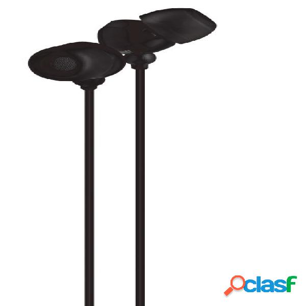 Maxell audífonos intrauriculares in-225, alámbrico, 3.5mm, negro