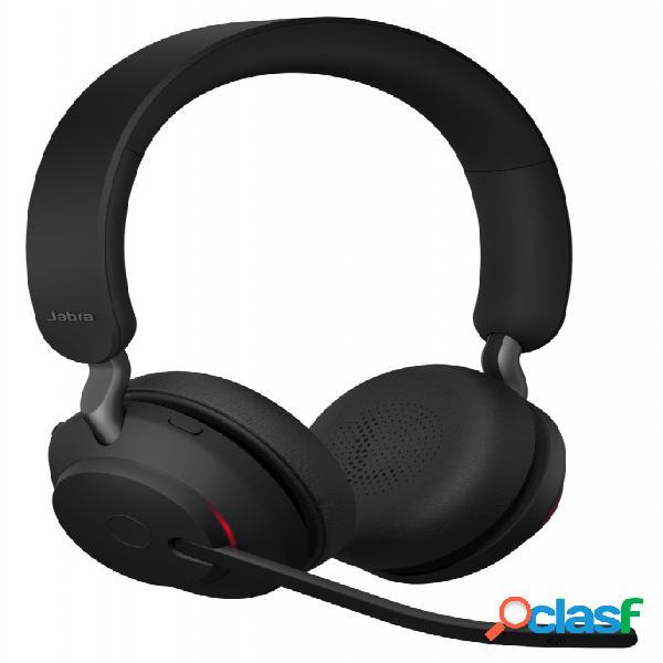 Jabra audífonos evolve2 65 uc stereo, inalámbrico, 1.2 metros, bluetooth, negro