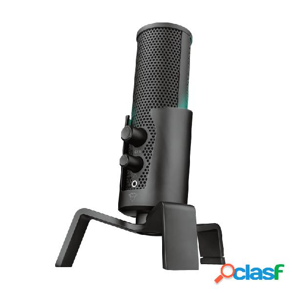 Trust micrófono gxt 258 fyru, alámbrico, 200ohm