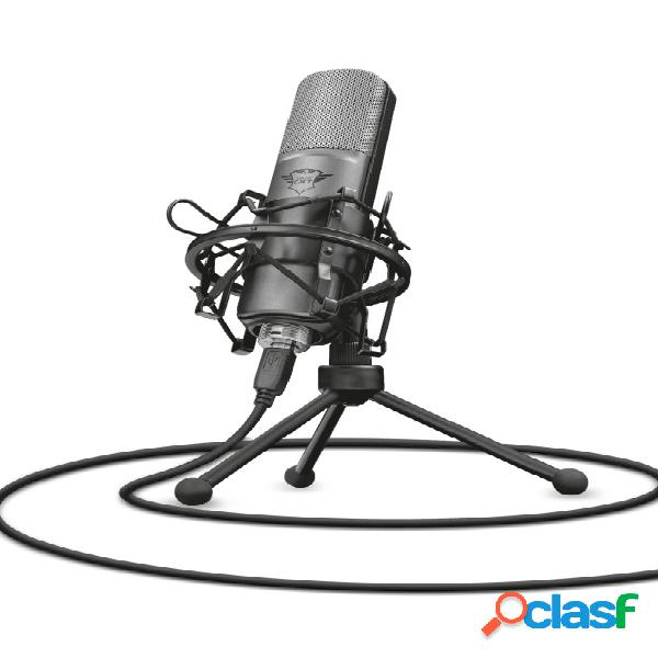 Trust micrófono gxt 242, alámbrico, 2200ohm