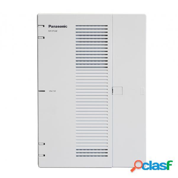 Panasonic conmutador compacto hibrdo ip, 4x rj-12, 8x rj-11