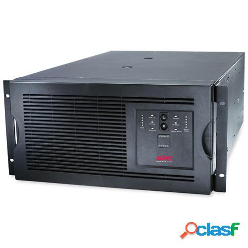 No Break APC Smart-UPS SUA5000RMT5U Línea Interactiva, 4000W, 5000VA, Entrada 208V, Salida 208V