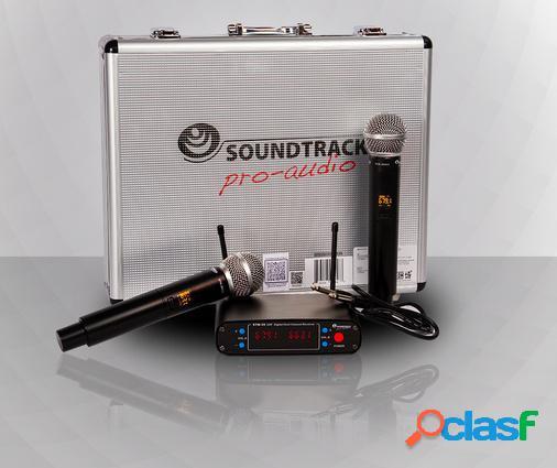 Soundtrack Kit Micrófonos STW-29HU2, Inalámbrico, 90dB