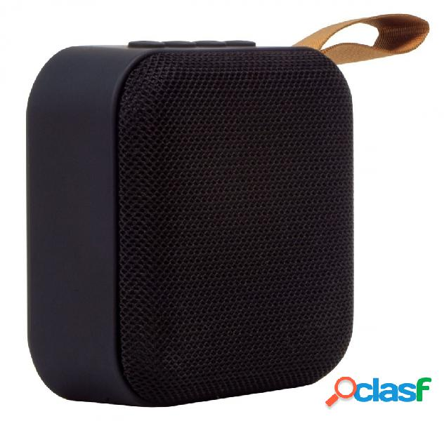 Stylos Bocina Portátil STSCUX1B Bluetooth, Inalámbrico, 3W RMS, USB, Negro