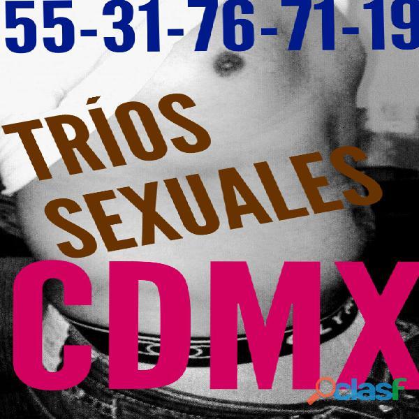 BUSCO PAREJAS PARA TRIOS EN LA CDMX