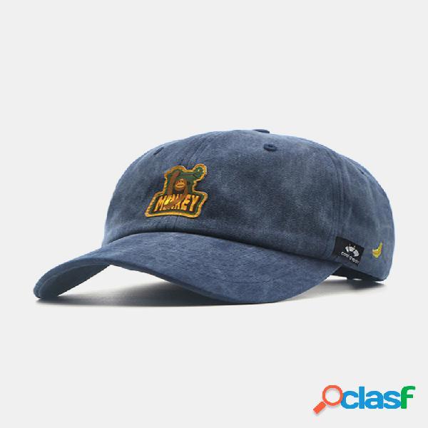 Gorra de béisbol vintage unisex de deporte de algodón lavado gorra con visera casual del aire libre para hombres y mujeres