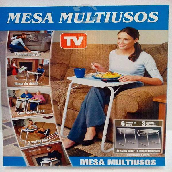 Mesa table mate ajustable multiusos portátil plega