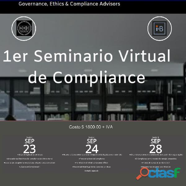1er seminario virtual de compliance