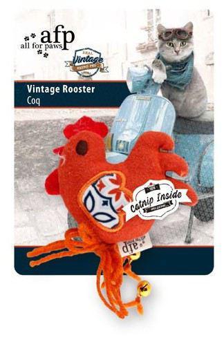 Afp juguete vintage pet cat gallo