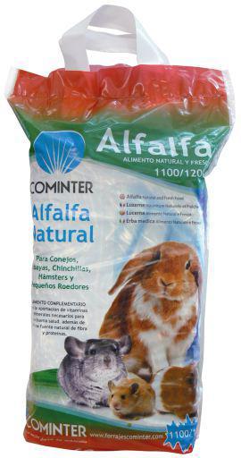 Cominter alfalfa deshidratada para roedores