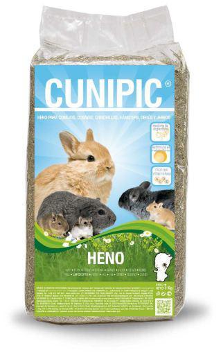 Cunipic heno con fibra para roedores