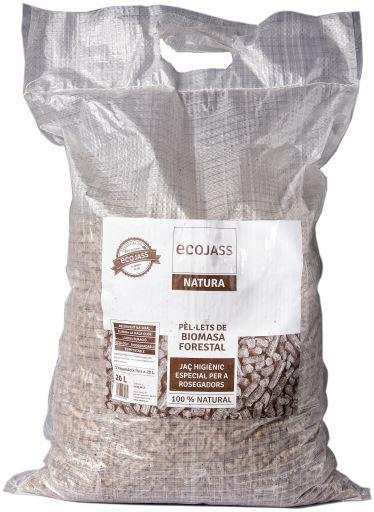 Ecojass lecho para roedores forest pellets