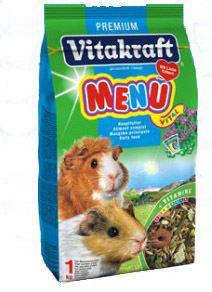 Vitakraft menú para cobayas alimento con vitaminas