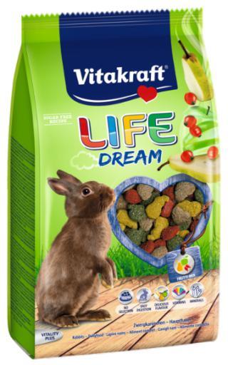 Vitakraft pienso menú life dream extrusionado para conejos
