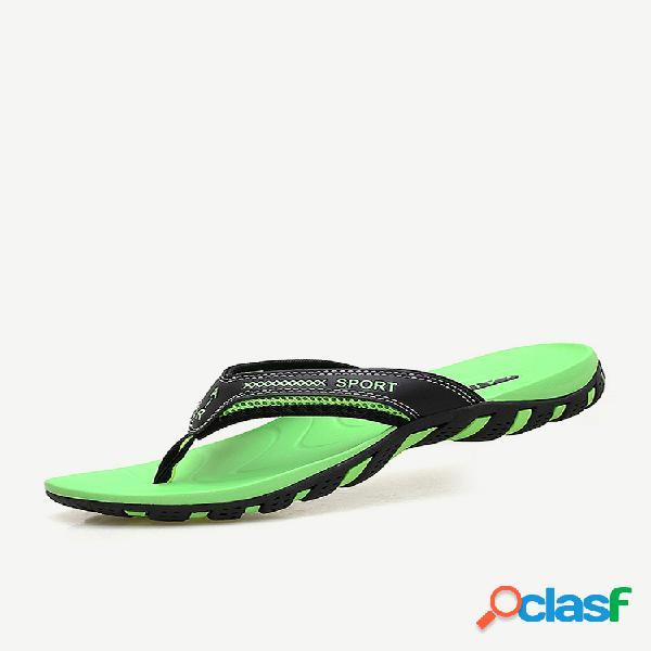 Soporte de arco para hombre agua zapatillas punta con clip playa jardín sandalias
