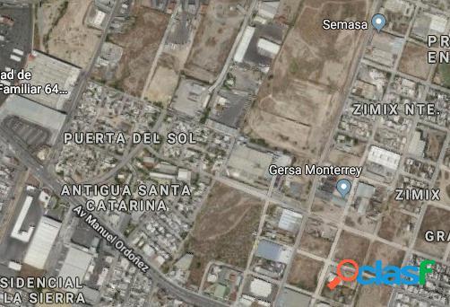 Terreo en venta Santa Catarina NL