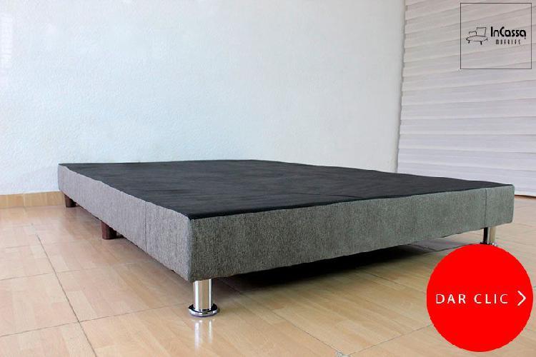 Base modelo armenia minimalista - incassa muebles