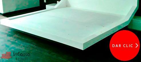 Base modelo mónaco minimalista - incassa muebles
