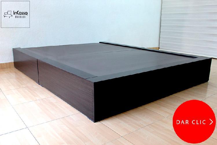 Base modelo recife minimalista - incassa muebles