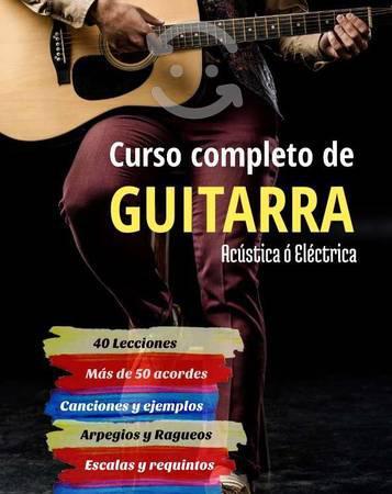 Curso completo de Guitarra.