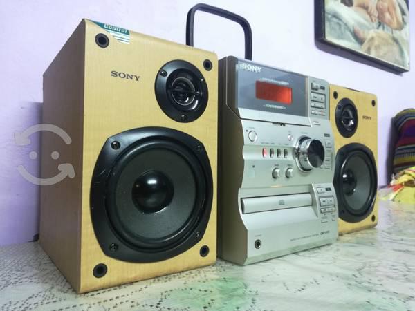 De alta fidelidad estéreo sony hi-fi mod. cmt-cp11
