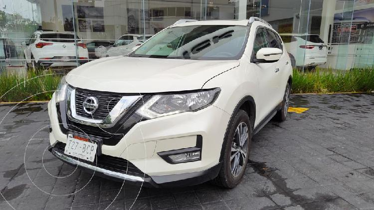 Nissan x-trail advance 2 row usado (2019) color blanco