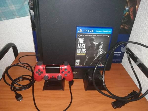 Ps4 pro 1tb control, ventilador y un videojuego