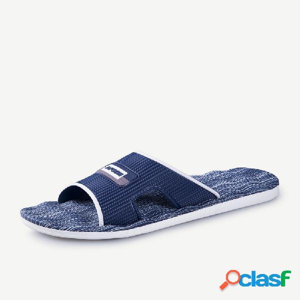 Hombre EVA Home Open Toe Ligero Interior Casual zapatillas