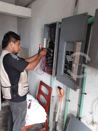 Electricista general, servicios, respuesta rapida