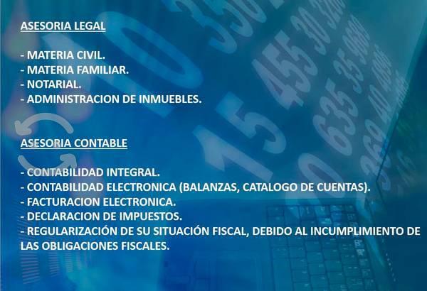 Servicios legales y contables