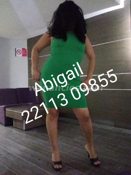 Abigail Golosa Fogosa Ardiente Cachonda disfruto del