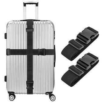 2x correas para maletas cinturones de equipaje para bolsa