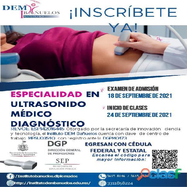 Especialidad Ultrasonido Médico Diagnóstico