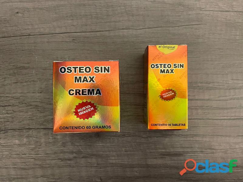 OSTEO SIN MAX EL UNICO EL ORIGINAL