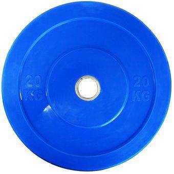 Disco Olimpico De Color Con Recubrimiento 20 kg Para