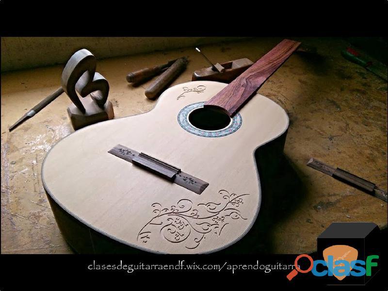 Clases de Guitarra en Todo México Personalizadas 4