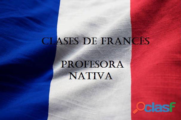 ¡Francés! Clases particulares online con profe nativa