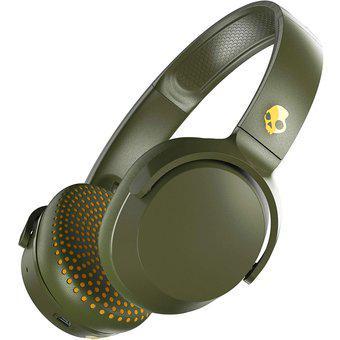 Audifonos Skullcandy On Ear Riff Bluetooth Olivo MIC3