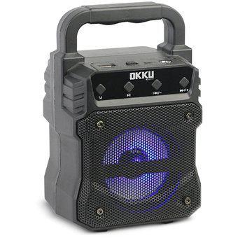 Bocina Portátil 3 Okku BP30003 Bluetooth