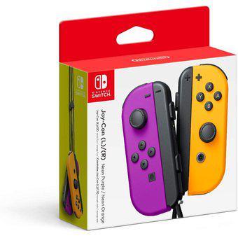 Controles Joy Con L y R Para Nintendo Switch Morado y