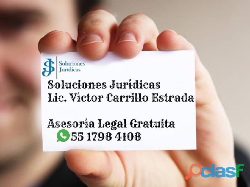 Asesoría legal Gratuita.