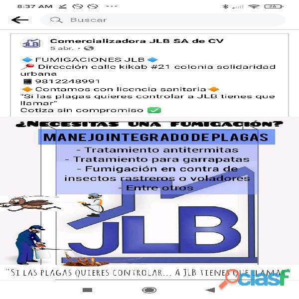 Fumigaciones JLB Campeche