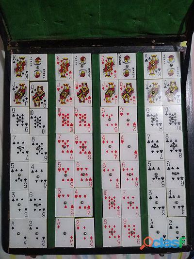 Juego de Mesa Rummy Mahjong Bancomer Vintage