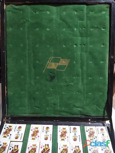 Juego de Mesa Rummy Mahjong Bancomer Vintage 1