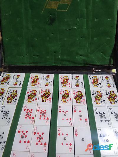 Juego de Mesa Rummy Mahjong Bancomer Vintage 2