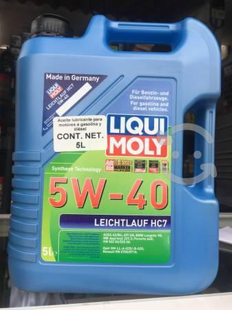 Aceite sintético liqui moly leichtlauf hc7 5w40 5l