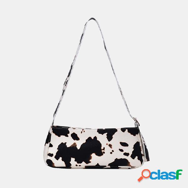 Mujer hombro de leche informal bolsa bolso crossbody bolsa