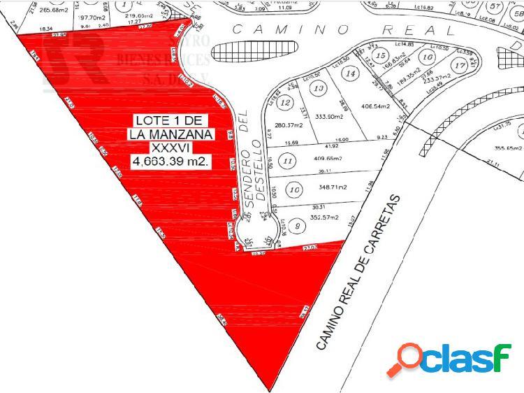 Terreno Uso Mixto Comercial en Milenio III Querétaro sobre avenida principal, Milenio III Fase B Sección 11