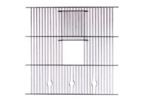 Mgz alamber rejilla frontal 40 x 40 cm